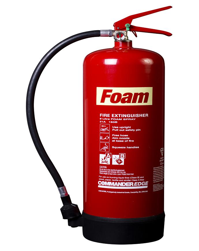 CommanderEDGE 9ltr AFFF Foam Fire Extinguisher